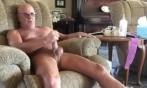 Small Ball Stretching masturbating