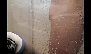 Spying on my stepfather in his shower part2