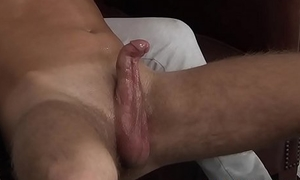 Filamentous innocent twinkie Raiden gets jacked off and cums