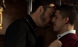 Father and twink make love
