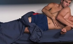 FamilyDick - Muscle rest consent to daddy barebacks boys via sleepover