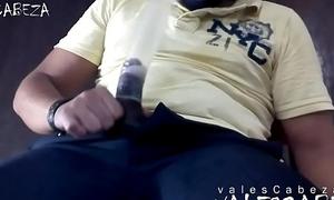 ValesCabeza296 SUCKING LATEX CONDOM CUMSHOT in CONDOM!!!! chupandome el condon lechazo dentro!!!