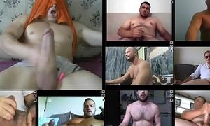 web camera hairy bears bulls muscle jocks big cock jerk-off multicam session multiple videos