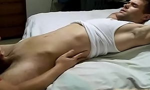 Young homo does sixtynine before ass fucking in trine