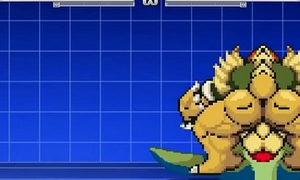 Bowser Vs Giran Bara Battle