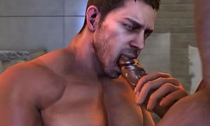Chris Redfield Job 3d gay games