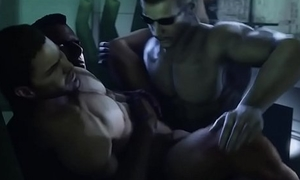 Albert Wesker with an increment of James Vega Fuck Chris Redfield  3d gay games