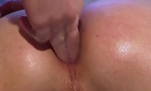 Hot twinks enjoy some anal spanking and asshole fingering