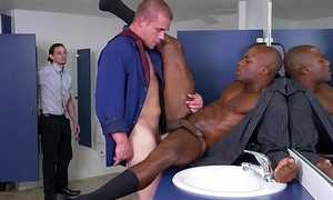 GRAB ASS - Boss Man Adam Bryant Knows How To Treat His Helpers