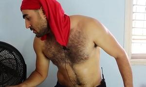 Hairy Arab Man