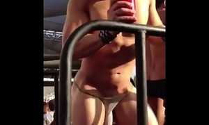 Hot Stripper with sexy underwear (no sound)