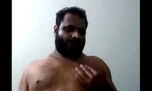 Indian gay bear daddy jerking