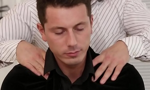 Co-workers enjoy bisexual triple - Lady Dee, Nick Gill and Black