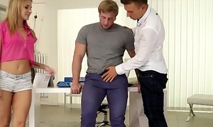 Hot Facetious ambisextrous threeway fuck - Angel Piaff, Blonder and Jamie Oliver