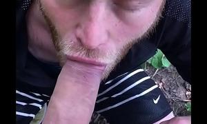 Blowjob in nature