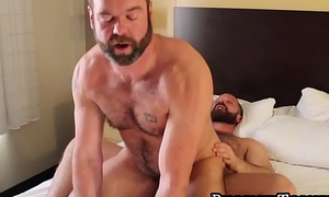 Two lusty bears meet for an exciting day of subvene anal invasion fucking