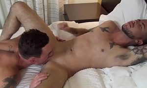 Connor Atlas &amp_ Cade Maddox BAREBACK in ORANGE COUNTY on JockPussy