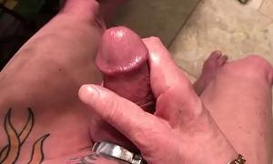 my locked cock