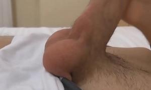 Sexy Twink Markus Hot Foreskin Wanking