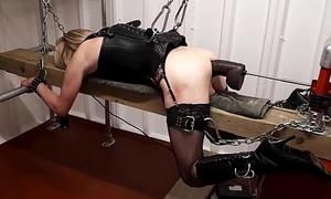 RachelSexyMaid - No.17 - 13 inch Big black cock Lock-up Chastisement