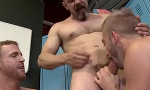 Three Horny Janitors Fuck