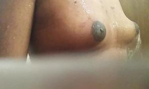 Indian Gay Boy enjoying his soft boobs