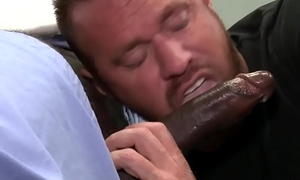 Tattooed Hunk Fucked by Black Doctor