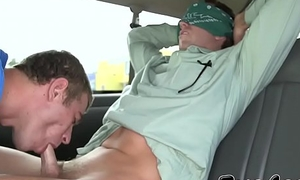 Nerdy straight dude tricked into ass fucking by a homo