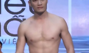 super male model brawl