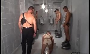 Enjoyable slave call on piss