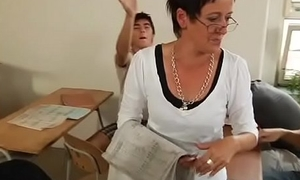 boys and twinks orgy in class