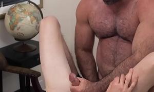 Gay mormon strokes cock