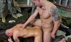 Horny military fellows are having a gay interracial have a passion orgy