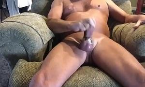 Masturbating with my new toy