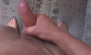 ActiveDuty Str8 Cutie Tyler Marshall Lubricates Up His Cock &amp_ Beats It!