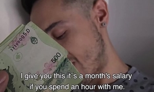 Straight Latino Wretch Offered Cash For Gay Sex Video POV