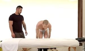 NextDoorStudios Jacked Arad'_s Massage Turns to Deep Anal Drilling