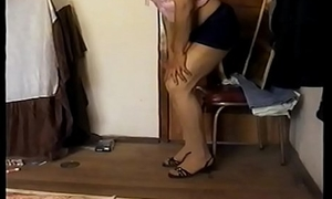 Sissy coupled with her banana