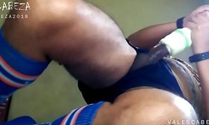 ValesCabeza198 SOCCER PLAYER Shafting HIS FLESHLIGHT de futbolista Follando mi masturbador