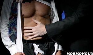 Mormon Latino Jock Roughly Big Cock Oiled And Masturbates In Front Of Unseeable Church Man