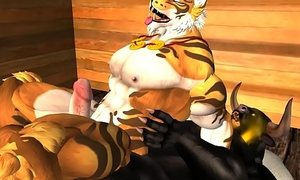 Tiger and slobber - 2