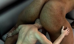 mini 3d stud receives fucked in the ass