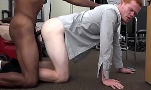 Real stud blowing agents bbc and gets fucked