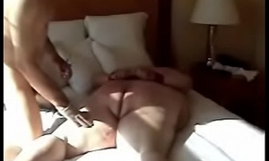 Cuffed Dildo Beeds Spanked added to Fucked