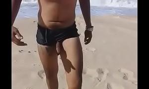Pau na praia