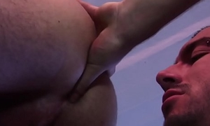 Muscular stud gets hardfucked and rimmed