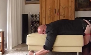 dwtbernd caned hard by his wife