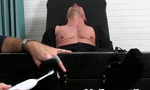 Limbs fetish and tickling tormenting in older paterfamilias and hunk