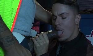 Hard Convention Jason Vario'_s BBC Deepthroat and Anal Penetration