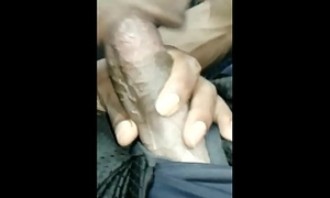 Black Boy Sucks His Strung up Collaborate on the Bus